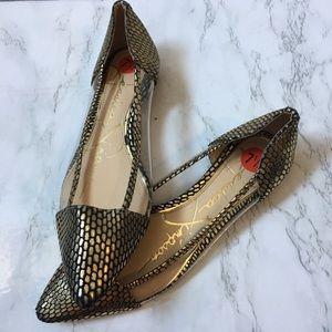 3/$25 Jessica Simpson D'Orsay Flats 7.5